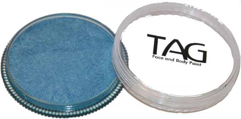 Pearl Sky Blue Face body Paint 32g