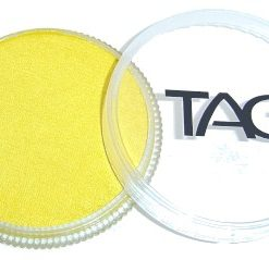 Pearl Yellow Face Body Paint 32g