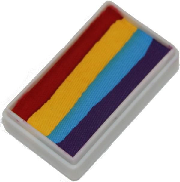 Rainbow 4 1 Stroke Split Cake 30g