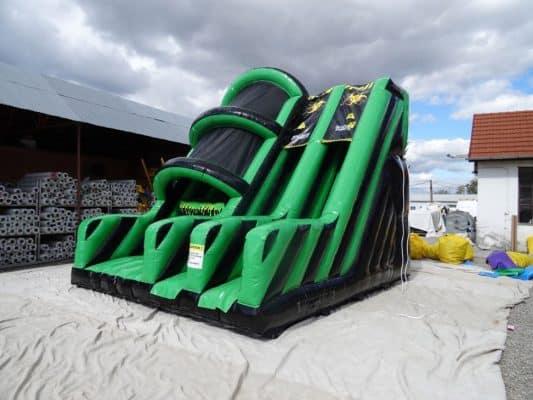 Base jump & slide