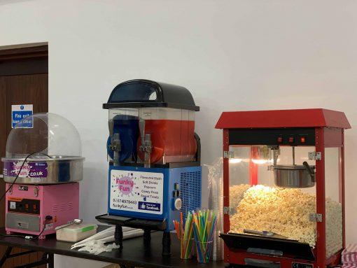 Popcorn, Candy Floss & Slush